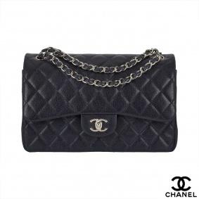 Chanel Timeless Classic Flap Jumbo caviar 2.55 Handbag